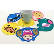 Promotional Cartoon PVC Coasters