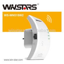 Repetidor Wi-Fi sem fio de 300 Mbps com WPS Melhora a cobertura sem fio em todas as redes WLAN