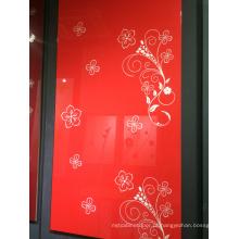 96 cores 4X8 folha de acrílico do painel de 1mm para os cabients da cozinha (zhuv)