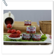 Italian Quality Tomato Paste with 70g 210g 400g 800g 850g 1kg 2.2kg 3kg 4.5kg Tin Size From Supplier