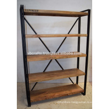 Industrial Vintage Book Case
