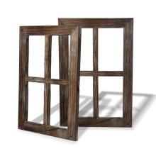 Rustic Wall Decor Decoration Outdoor Window Barnwood Frames