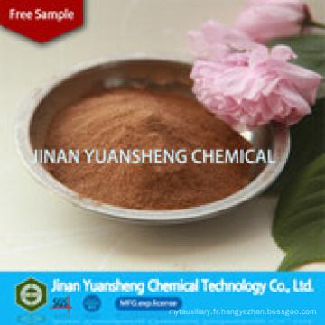 Lignosulfonate de calcium comme additif de bronzage (CF-5)