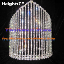7inch Wholesale Queen Rhinestone Crowns