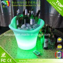 Barra de cubo de hielo de la barra / cubo de hielo plástico de la barra del LED con ce, RoHS