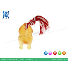 TPR Chicken Rope Dog Toy