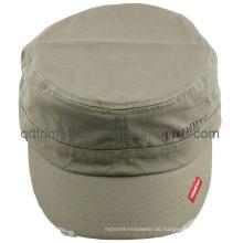 Schleifen gewaschener Druck Freizeit Sport Military Cap (TMM8150)