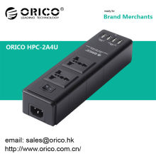 ORICO HPC-2A4U Protector contra sobretensiones de 2 salidas con puerto de cargador USB 4port