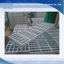 Sheet Metal Stainless Steel Grating with Serrated End Bar