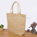 Eco amigável e respirável sacola de compras de juta com preço barato