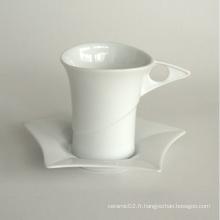 Ensemble de tasse de café en porcelaine (10CD13765)