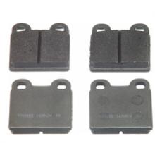 Piezas de automóvil de fibra de carbono de pastillas de freno para Alfa Romeo 0060712608