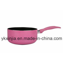 Kitchenware Aluminum Non-Stick Milk Pot Sauce Pan Cookware