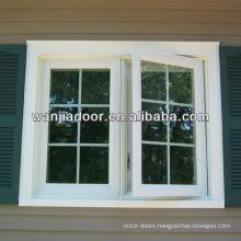 hinged window/double hinged windows/side hinged window