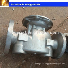 water valve body aisi 304 stainless steel casting