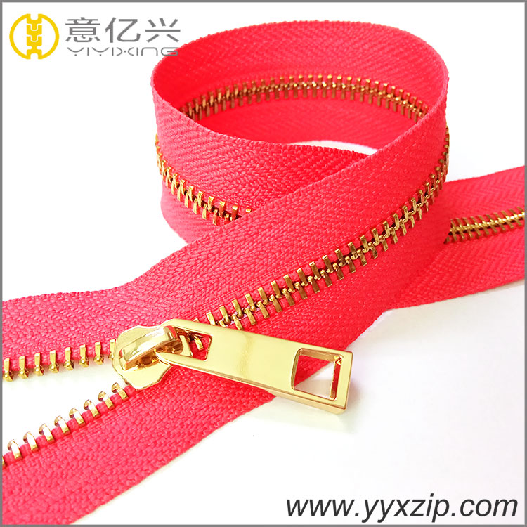 Plating Metal Zipper