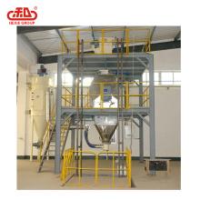 Línea de producción de piensos concentrados a máquina concentrada