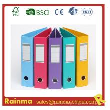 Arquivo de alavanca de arco de tamanho 2/2 '' A4 / FC de PVC colorido