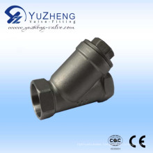 Stainless Steel Thread Y Type Strainer