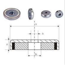 Innengewinde Topf Magnet (UNI-Topf-io9)