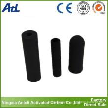 bloque de carbón activado como medio filtrante de agua