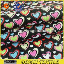 heart print fabric 100 cotton for sofa pillow