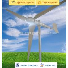 baixa velocidade e alta eficiência de preço de turbina de vento 5kw