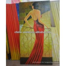 Neues Entwurfs-reizvolles Frauen-Ölgemälde für Verkauf