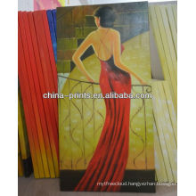 New Design Sexy Woman Oil Painting For Sale