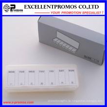 Einfache Art wöchentliche Pillbox für Promotion (EP-017)