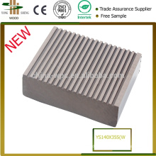 Manufacture HDPE de Top 10 beau plancher de terrasse extérieure en plastique résistant UV haute