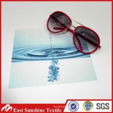 Sanftes Mehrzweck-Microfaser-Glas und Poliertuch