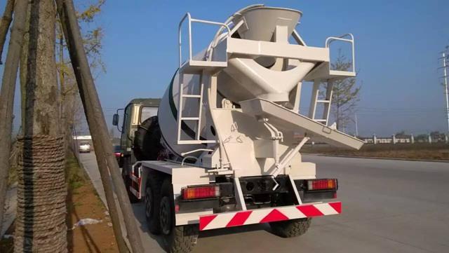 6×6 military mixer truck