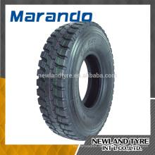 MARANDO MARKE 11R22.5 12R22.5 gute Qualität LKW-Reifen MO628