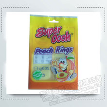 Snack Food Back Sealing Packaging Bags with Hanging Hole
