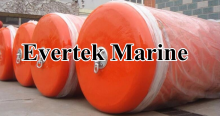 rubber floating solid ship to ship fender
