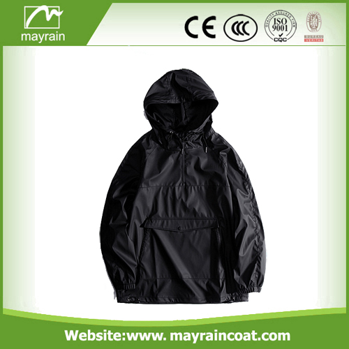 PU Rain Jacket for Selling