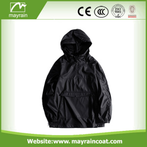 Outdoor Climbing Nylon PU Windproof Jacket