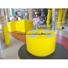 Produtos feitos-à-medida da fibra de vidro - caixa de brinquedos, válvula, distribuidor da água