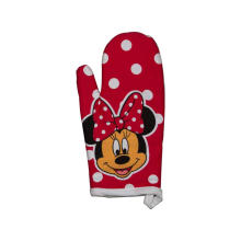 2018 Kefei Hot Style Beautiful Design Cheap Custom Printed Oven Mitt