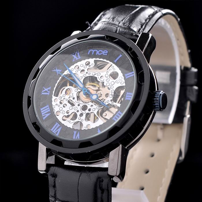 own brand low price automatic mens hand watch