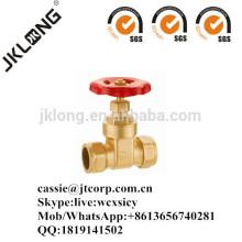 J1006 Brass gate valve