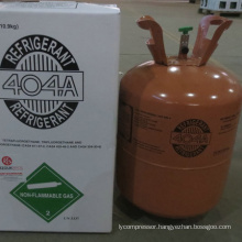 High purity refrigerant gas R404a 10.9kg disposable cylinder
