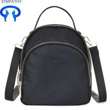 Custom female college wind backpack Oxford spinning student backpack