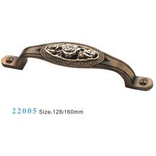 Muebles Accesorios Manija de gabinete de aleación de zinc (22005)