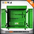 "Good surface Metal laptop charging cart school cabinet for laptop smart phone 19"""