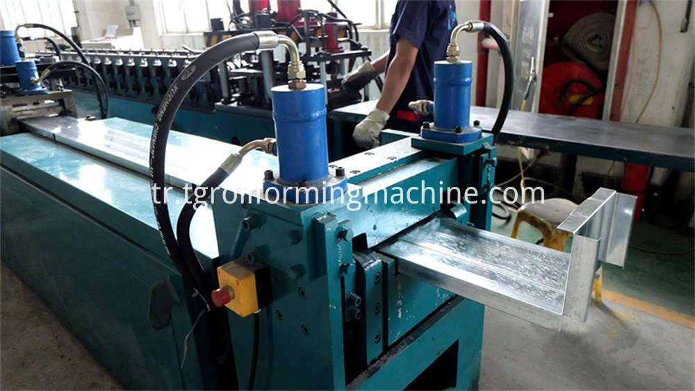 Fire Damper Shell Folding Making Machine