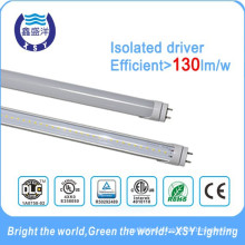 4ft led canada DLC UL ETL T8 led tube for North America Market