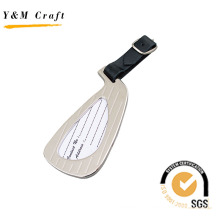 Metal and PU Luggage Tag (X04032)