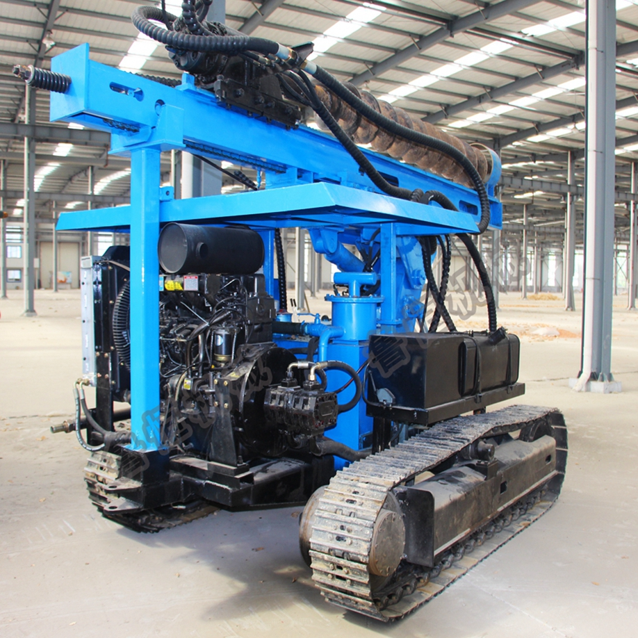 photovoltaic pile driver